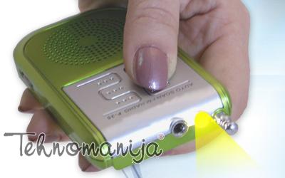 ROADSTAR Tranzistor TRA 2185 GREEN