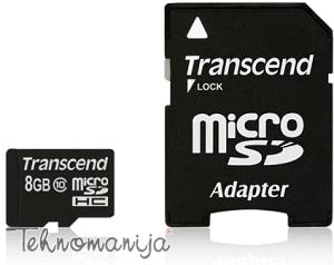 Transcend memorijska kartica TS8GUSDHC10