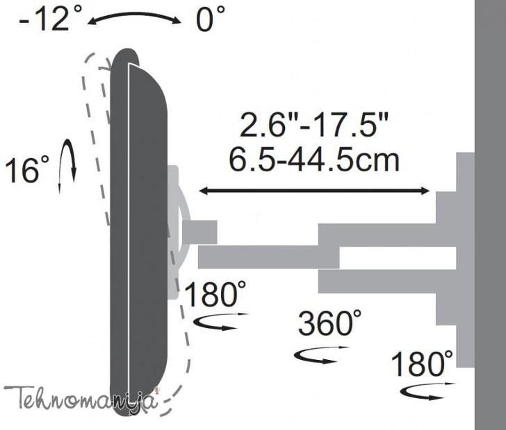 S Box nosač za televizor LCD 2903