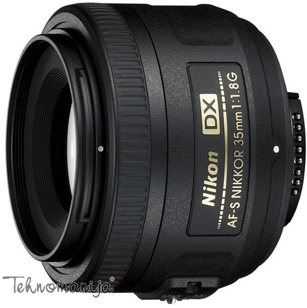 Nikon objektiv AF-S DX NIKKOR 35mm f/1.8G