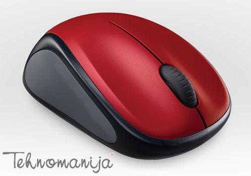LOGITECH Bežični miš M235 RED