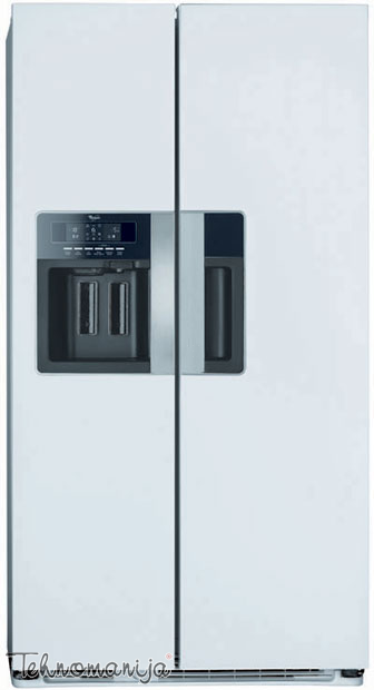WHIRLPOOL Side by side frižider WSG 5588 A W, Total No Frost