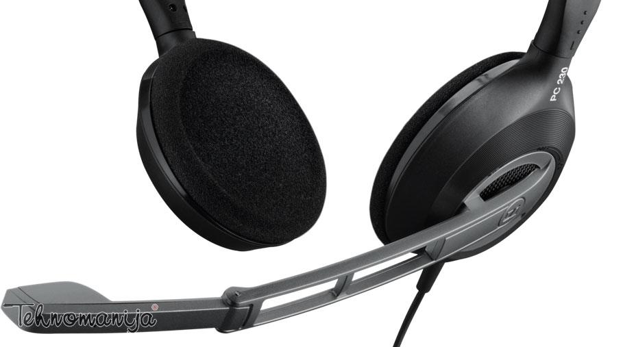 Sennheiser slušalice sa mikrofonom PC 230