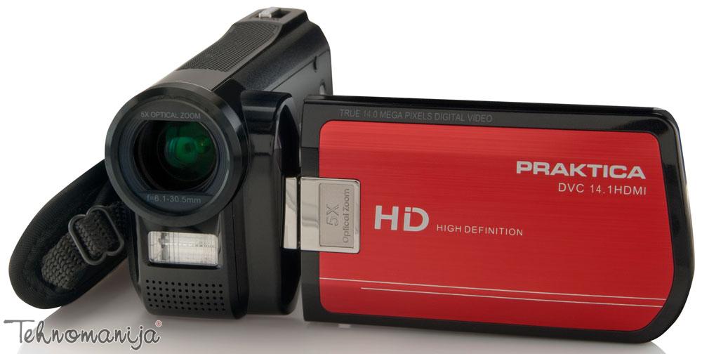 Praktica digitalna kamera DVC 14.1 HDMI RED