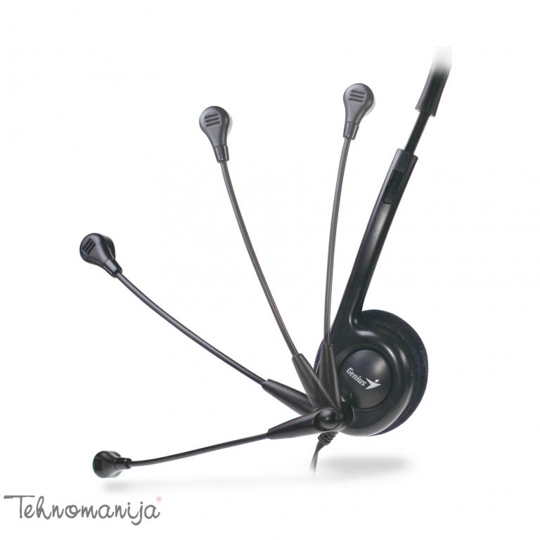 Genius slušalice sa mikrofonom HS-200C