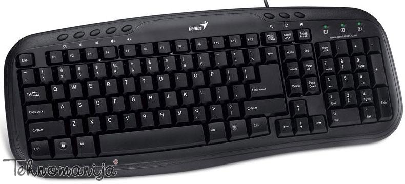 Genius tastatura KB M200 PS2 BLK SER