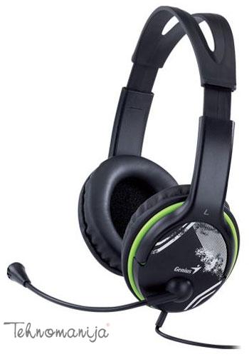Genius slušalice sa mikrofonom HS-400A GREEN