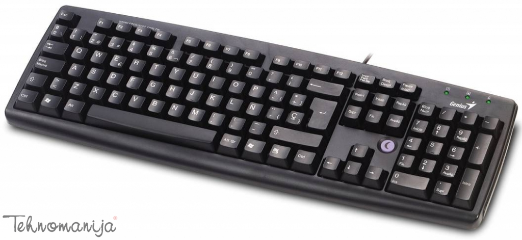 GENIUS Tastatura KB 06XE USB BLACK