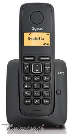 Gigaset bežični telefon A120 BLACK
