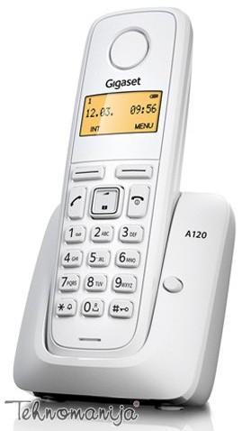 Gigaset bežični telefon A120 WHITE
