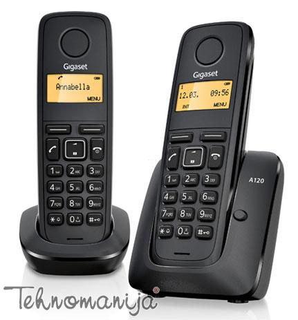 Gigaset bežični telefon A120 DUO