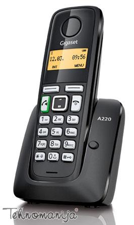 Gigaset bežični telefon A220 BLACK