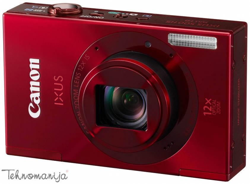 Canon Foto-aparat IXUS 500 HS - Crveni