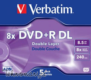 Verbatim DVD+R Double Layer V 43540