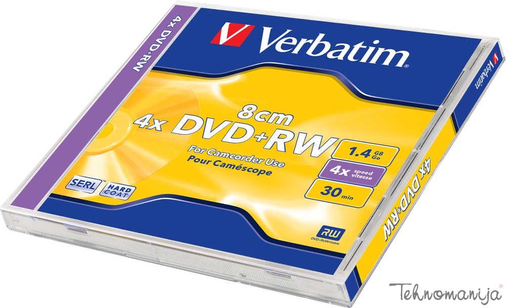 VERBATIM DVD+RW 8 cm V 43564