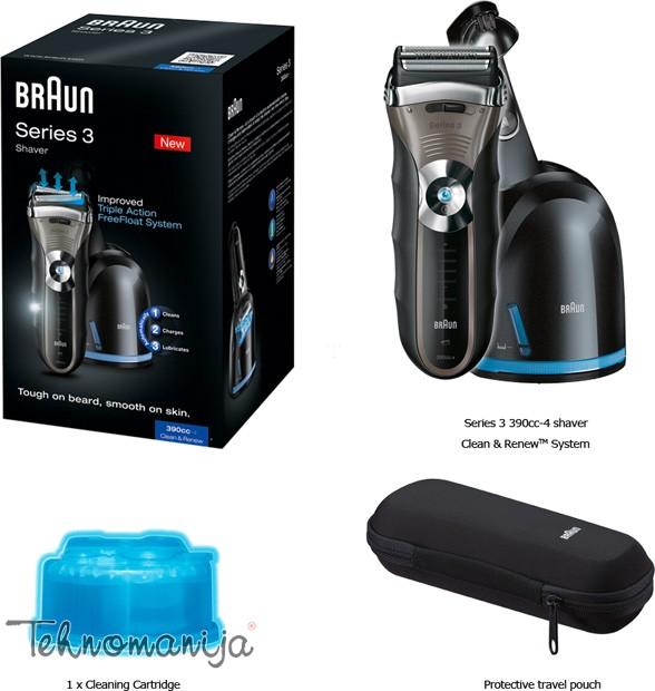 Braun aparat za brijanje 390 CC 4