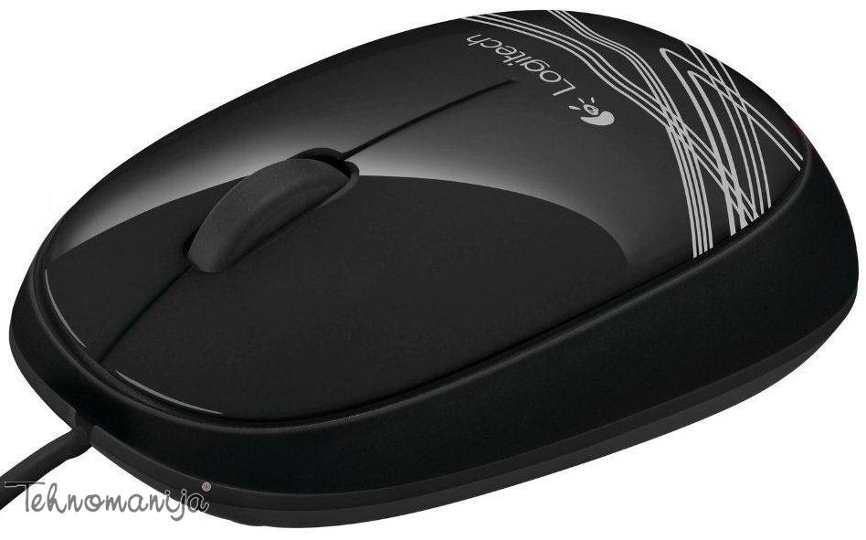 Logitech optički miš M105 BLACK
