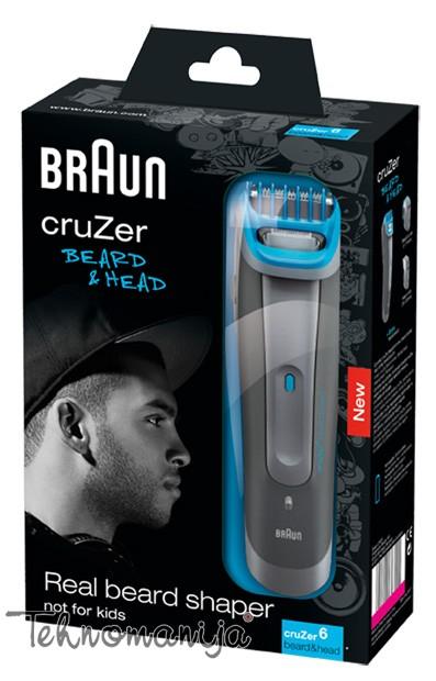 Braun trimer za bradu i brkove CRUZER 6 BH
