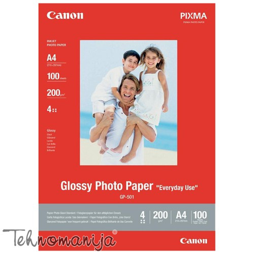 CANON Foto papir A4 GLOSSY