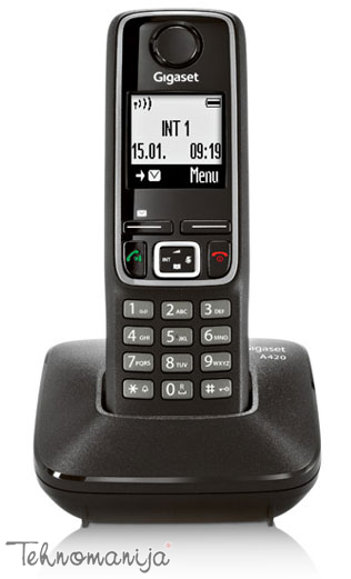 Gigaset bežični telefon A420 BLACK