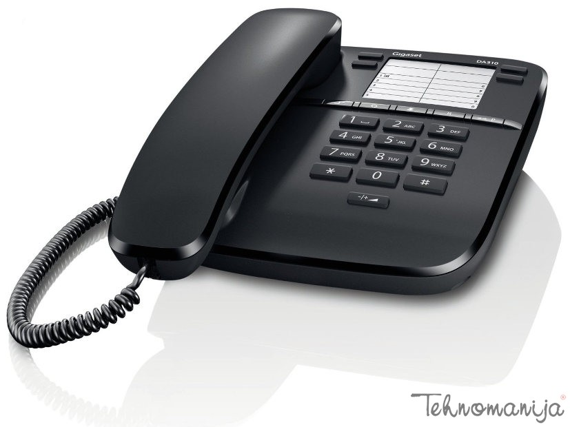 Gigaset telefon DA 310 BLACK