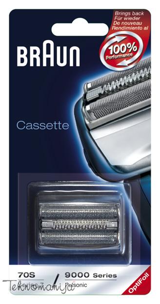 BRAUN Oprema za brijač 70S CASSETTE