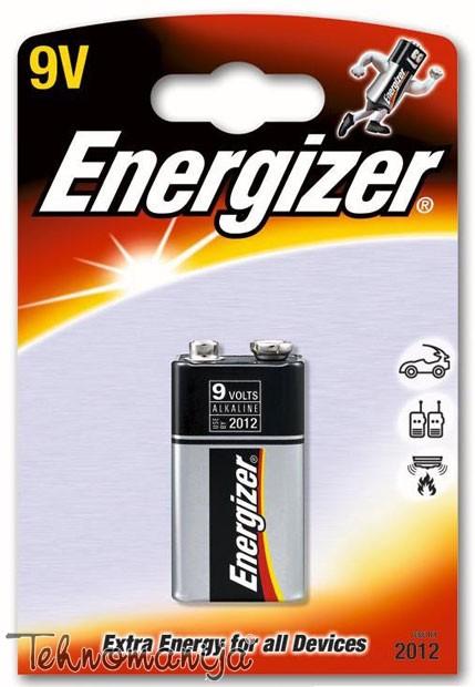 ENERGIZER Baterija 6LR61G 9V