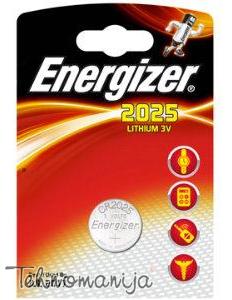 Energizer baterija CR2025 BLIST1