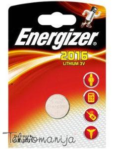 Energizer baterija CR2016 BLIST1