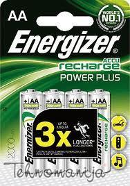 Energizer baterija AA2000MAH BLIST4