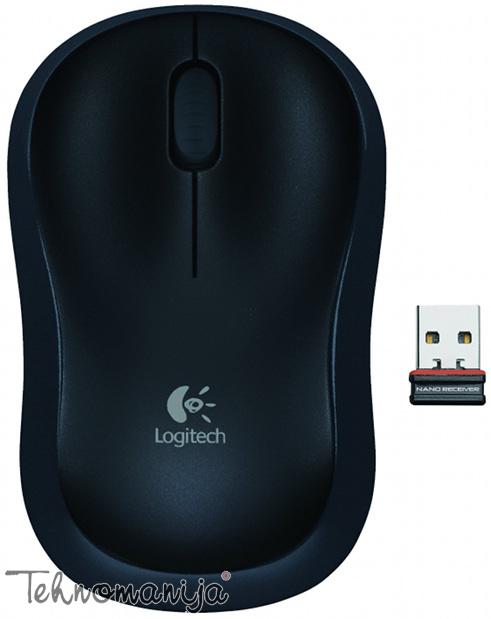 Logitech miš M175 BLACK