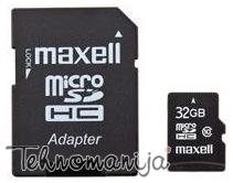 Maxell memorijska kartica MICRO SDHC 32GB