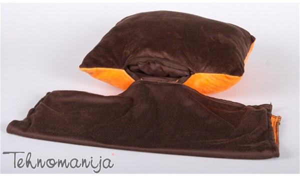 Dormeo pokrivač - jastuk TREND SIVI