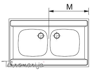 Franke sudopera DSN 720 Eco 103.0205.567