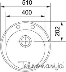 Franke sudopera ROG 610-41 114.0009.513