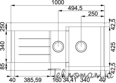 Franke sudopera JAG 651 114.0176.580