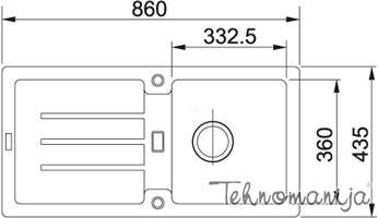 Franke sudopera STG 614 114.0197.799