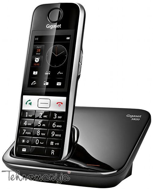 Gigaset bežični telefon S820 BLACK