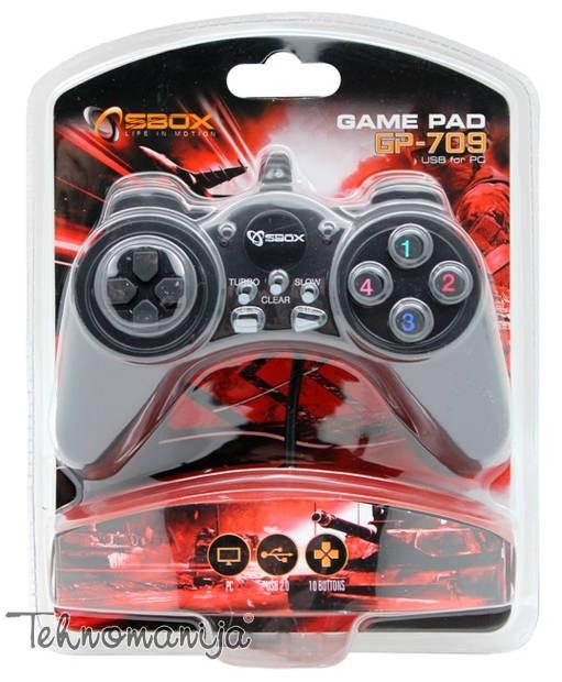 S BOX Gamepad GP 709 USB