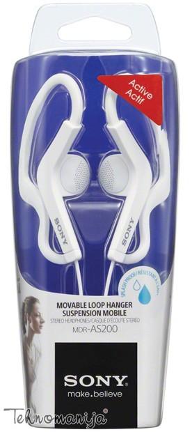 Sony slušalice MDR-AS200W