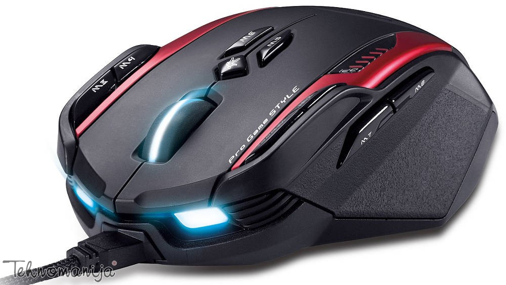 GENIUS Žični miš GILA USB BLACK
