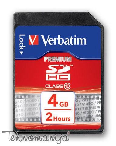 VERBATIM Memorijska kartica SDHC 43960