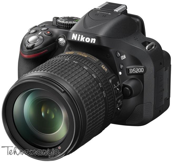 Nikon DSLR fotoaparat D5200 SET 18-105VR