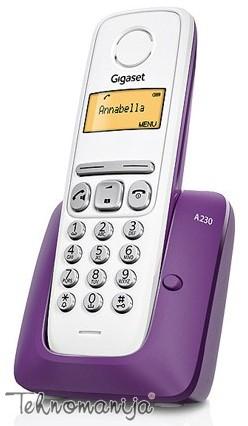 Gigaset bežični telefon A230 PURPLE