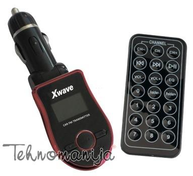 X Wave FM transmiter BT 65 RED