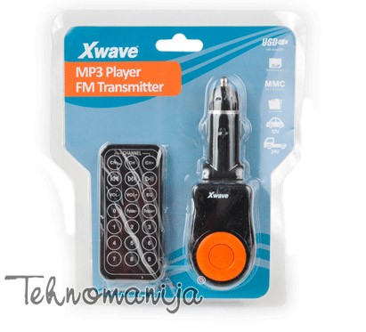 X Wave FM transmiter BT 63 ORANGE