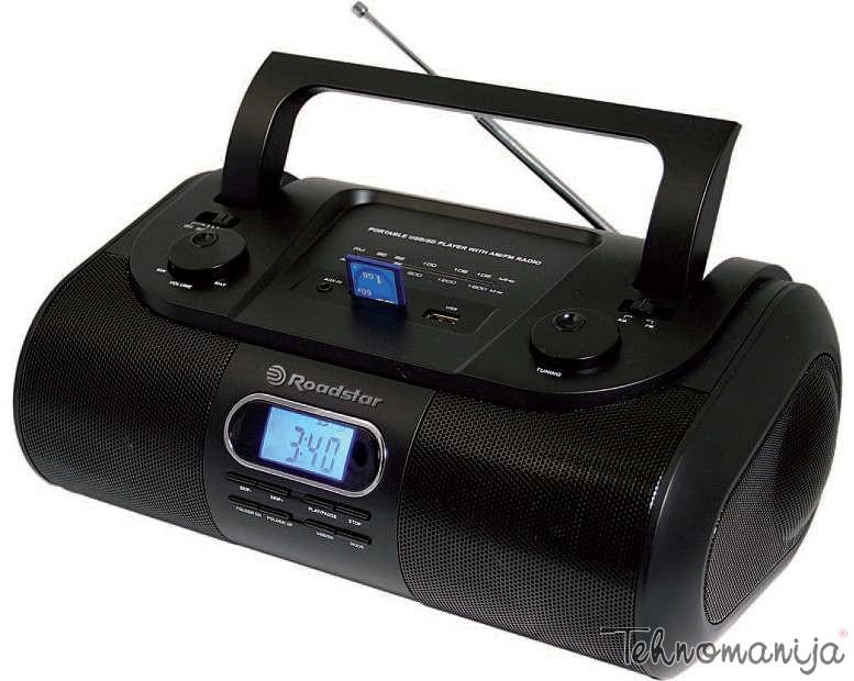ROADSTAR Radio RU 295 BK