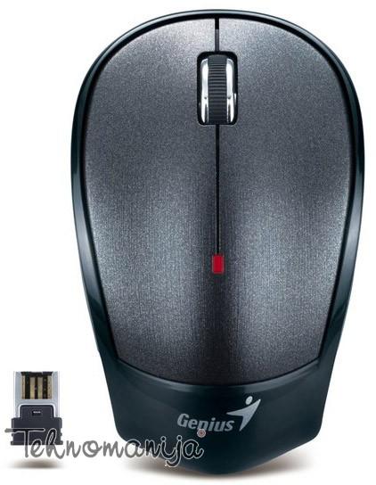 Genius bežični optički miš NX-6500 MET CRNI