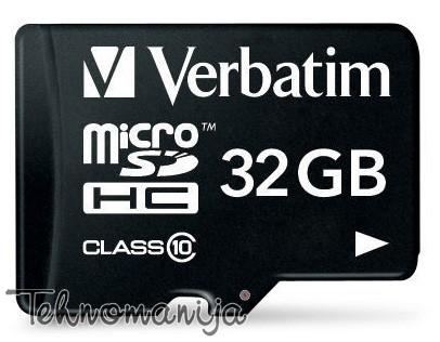 Verbatim memorijska kartica MICRO SDHC 44083