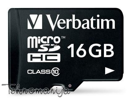 Verbatim memorijska kartica MICRO SDHC 44082
